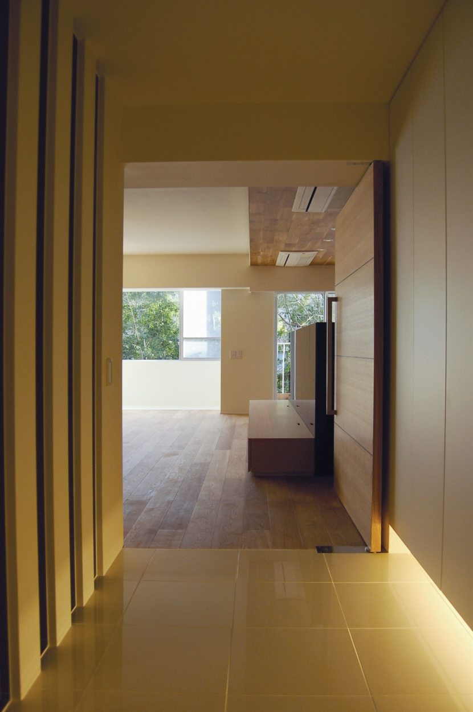 内部に情熱を注いだ空間(リノベーション)の写真 廊下2