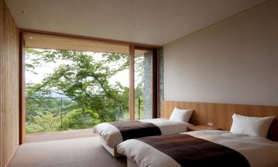 千ヶ滝山荘 (ベッドルーム)