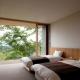 ベッドルーム (千ヶ滝山荘)