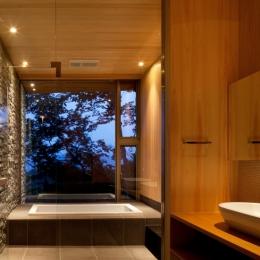 千ヶ滝山荘 (浴室)