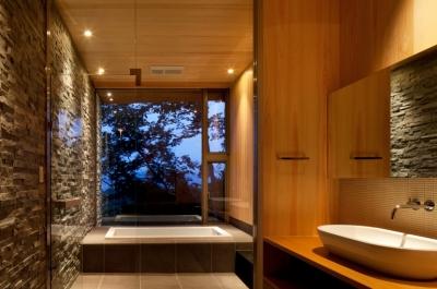 浴室 (千ヶ滝山荘)