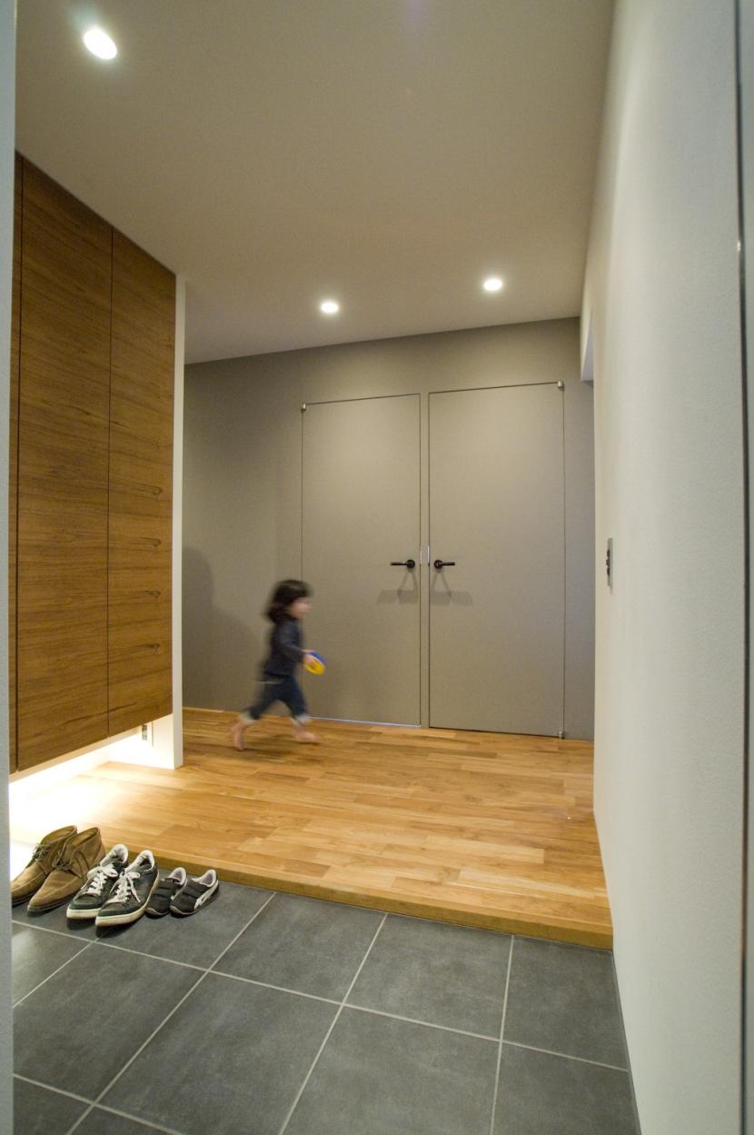 集まる家(リノベーション)の部屋 玄関