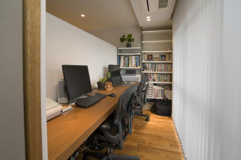 集まる家(リノベーション)の部屋 書斎1