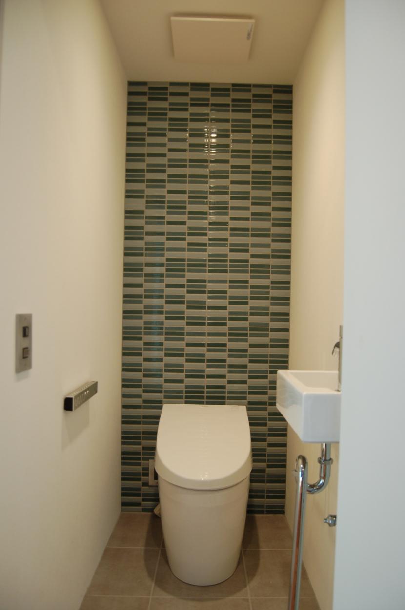 集まる家(リノベーション)の部屋 トイレ