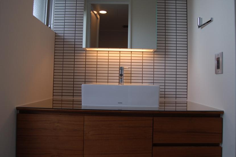 集まる家(リノベーション)の部屋 洗面室