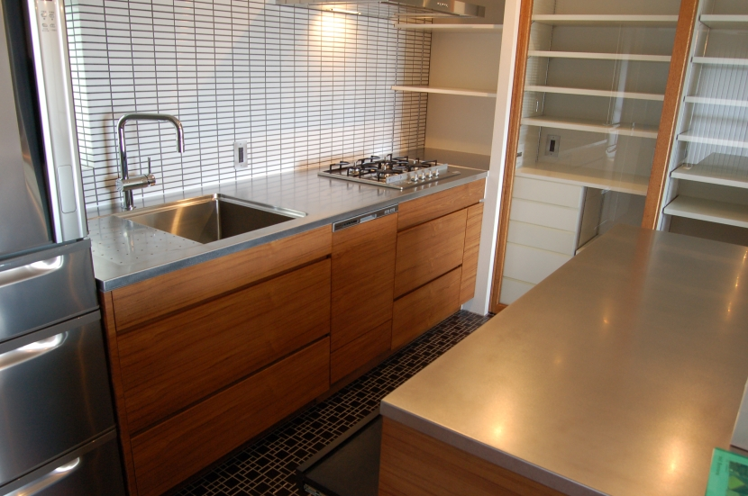 集まる家(リノベーション)の部屋 キッチン2