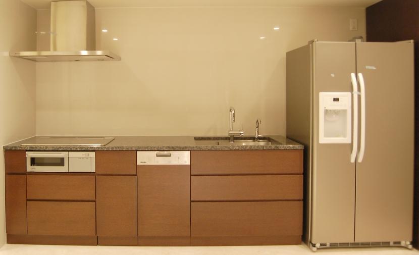 リゾート気分で過ごせる空間(リノベーション)の部屋 キッチン