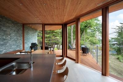 キッチン (千ヶ滝山荘)