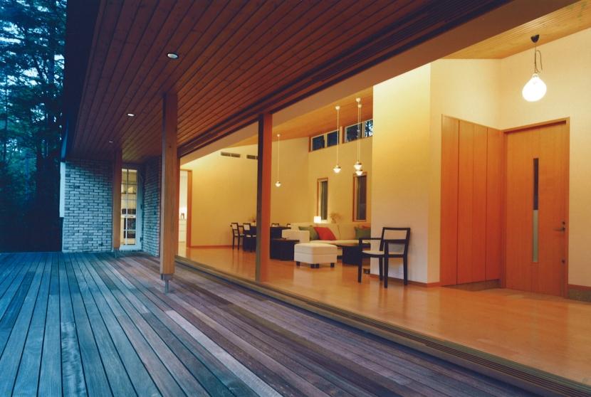 軽井沢の家9の部屋 テラス