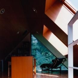 市川の家 (屋根裏2)