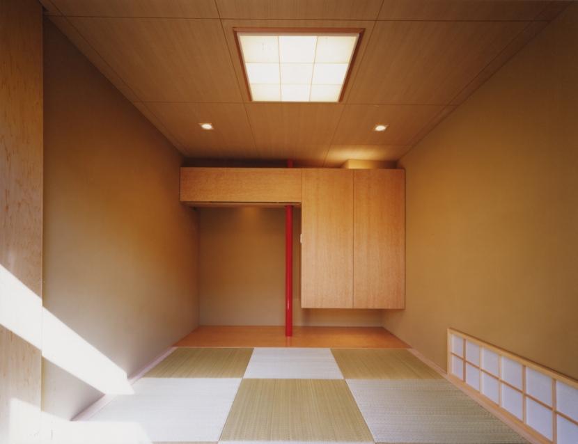 光を抱く家 (和室)