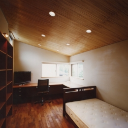 光を抱く家 (寝室)