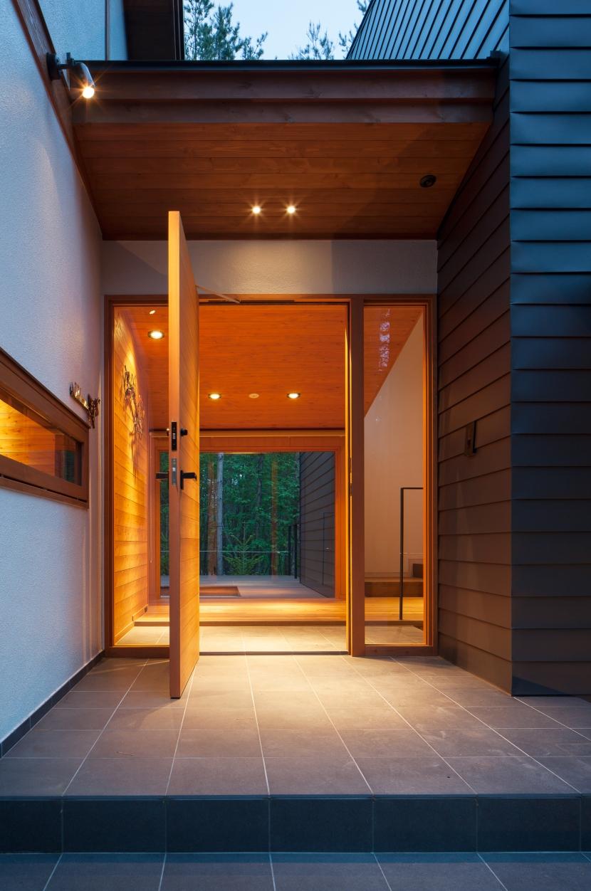 I山荘の写真 玄関-外