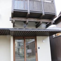 船岡山の家 (ファサード)