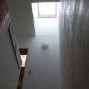 聚楽廻南町の家の写真 階段室