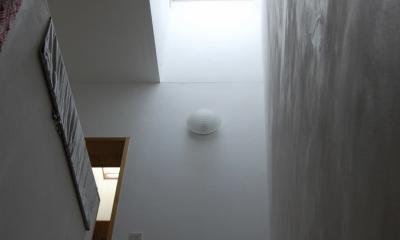 聚楽廻南町の家 (階段室)