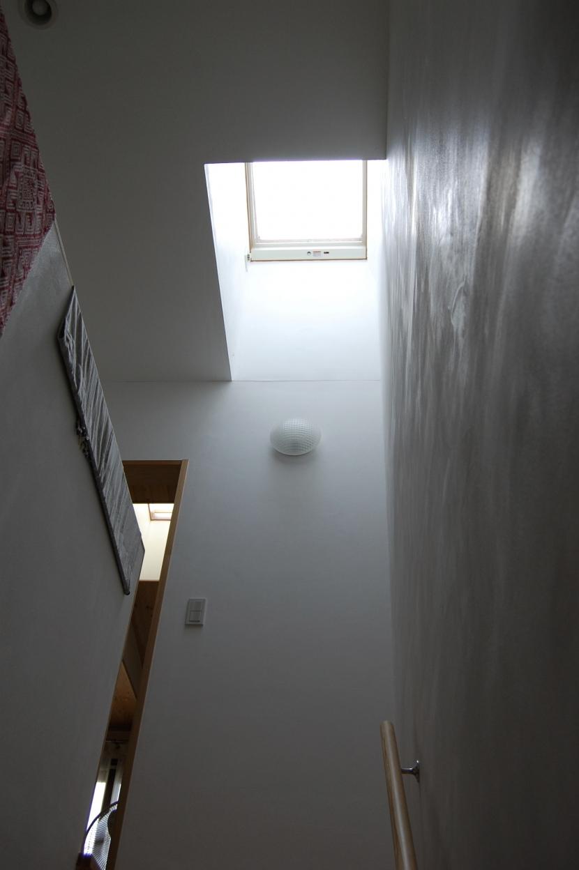 聚楽廻南町の家の部屋 階段室