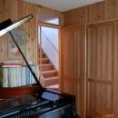 聚楽廻南町の家の写真 音楽室