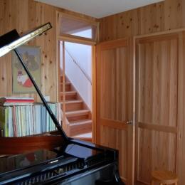 聚楽廻南町の家 (音楽室)