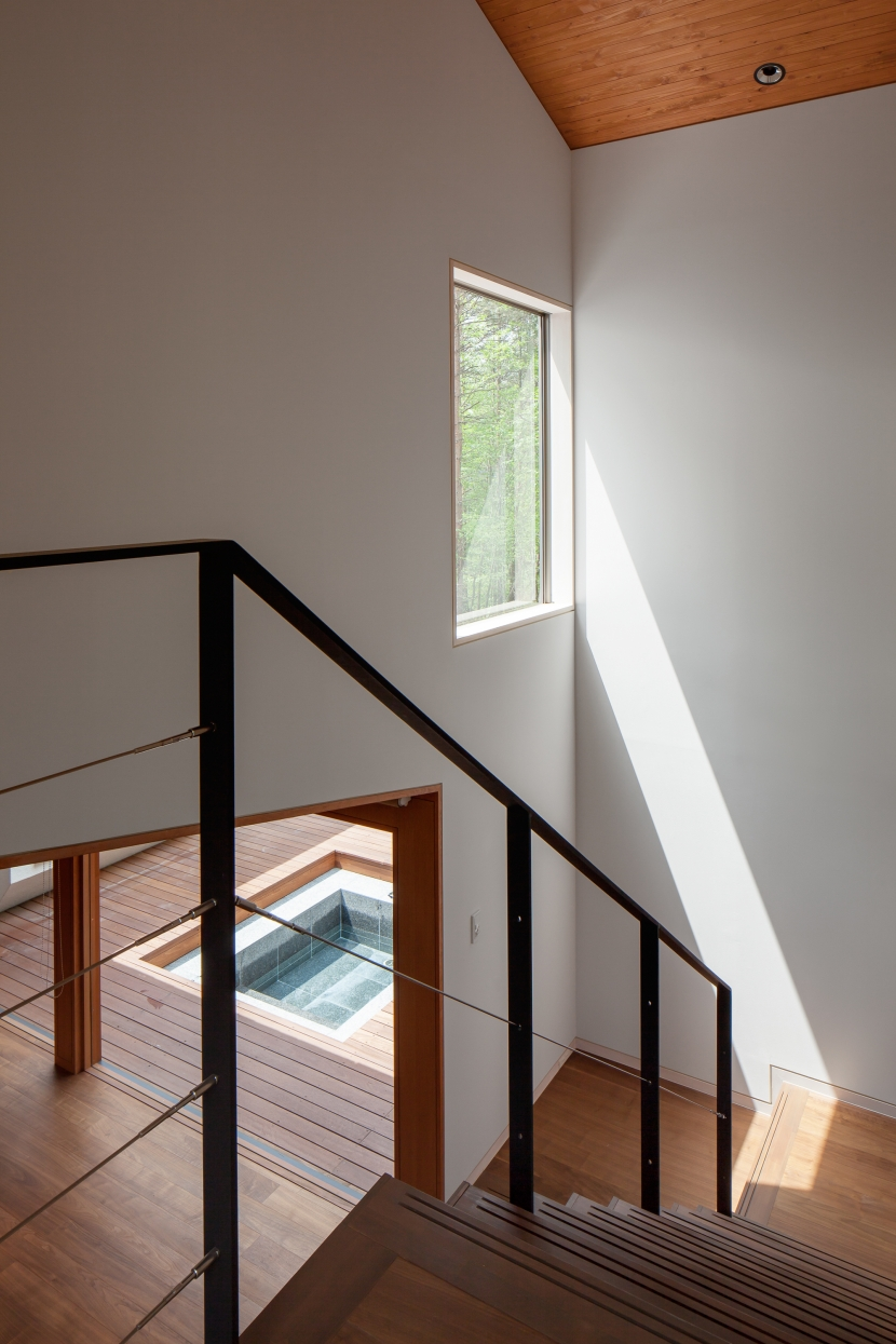 I山荘の写真 階段1