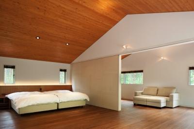 ベッドルーム1 (I山荘)