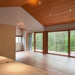 I山荘 (ベッドルームからの眺め)