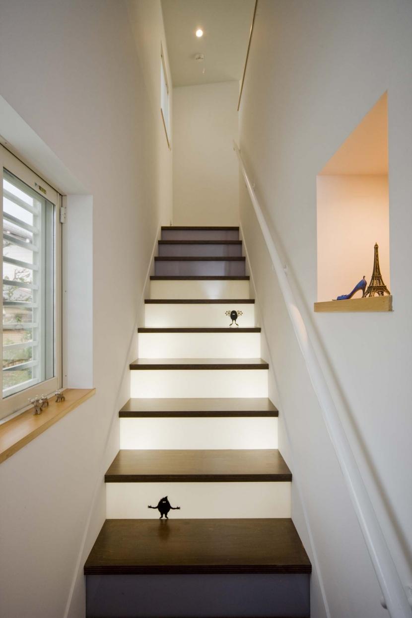 spiral らせんのいえの部屋 階段