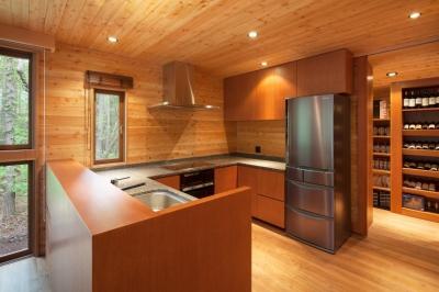 キッチン (I山荘)