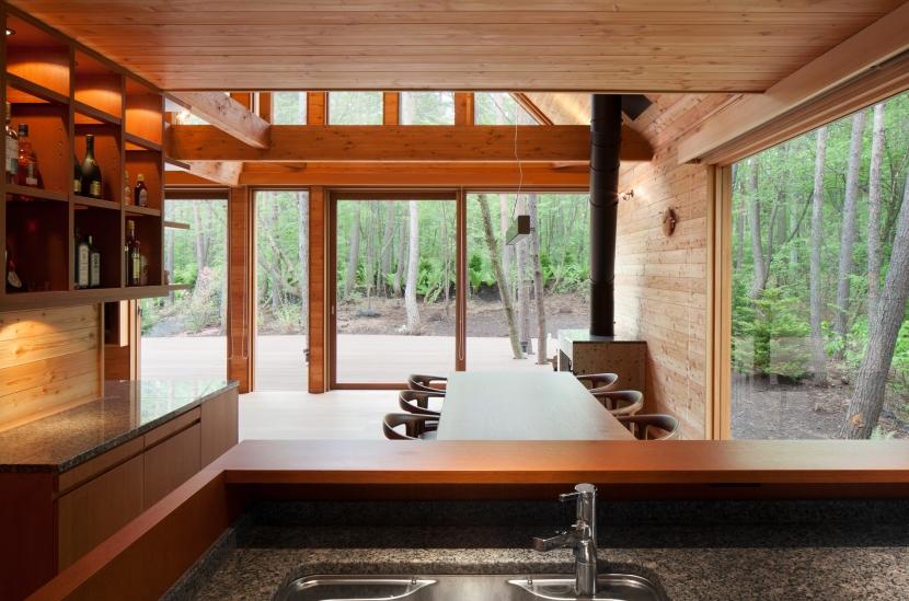 I山荘の写真 キッチンからの眺め