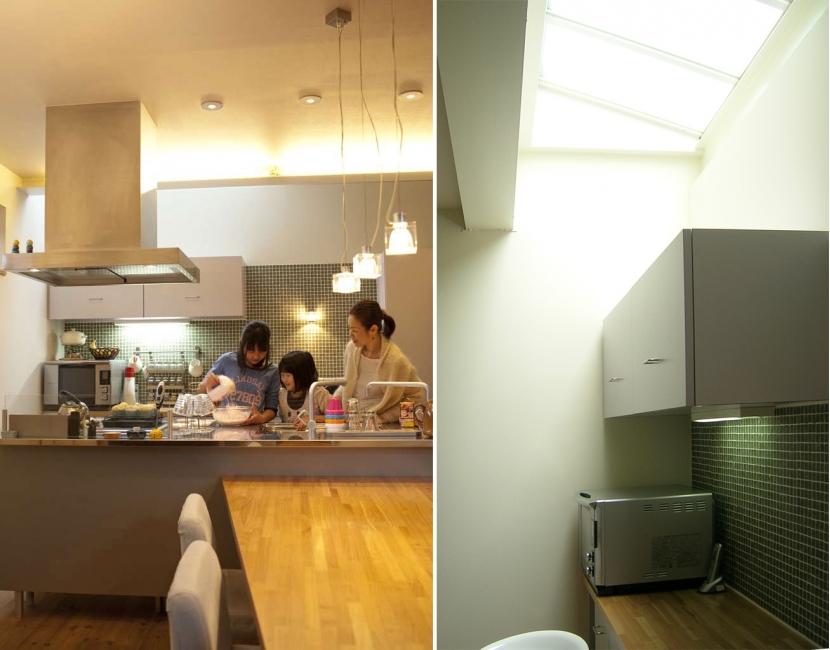 colors 色を重ねおいたいえの部屋 キッチン
