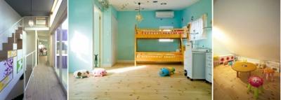 子ども部屋 (colors 色を重ねおいたいえ)