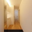 ソトを取り込む家の写真 ソトを取り込む家_リビング玄関