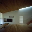鋸南の家の写真 床座の空間-柔らかな光