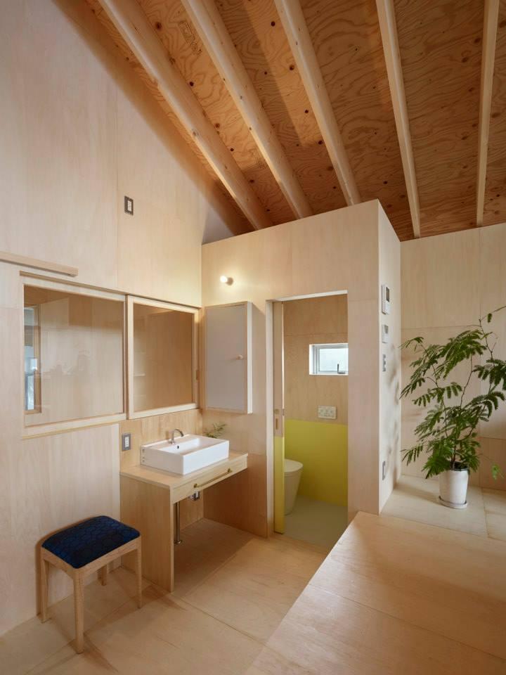 三滝の家の部屋 洗面所