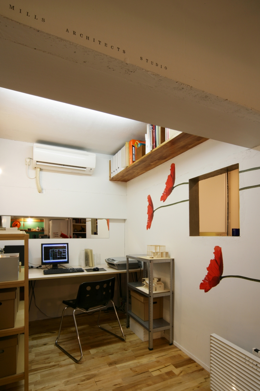 リノベーション「flat.604」の部屋 ワークスペース