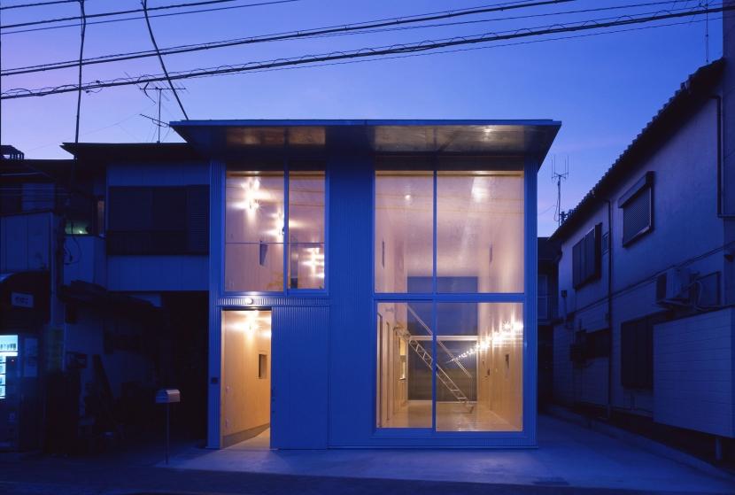 建築家:岩堀未来「筒の家」