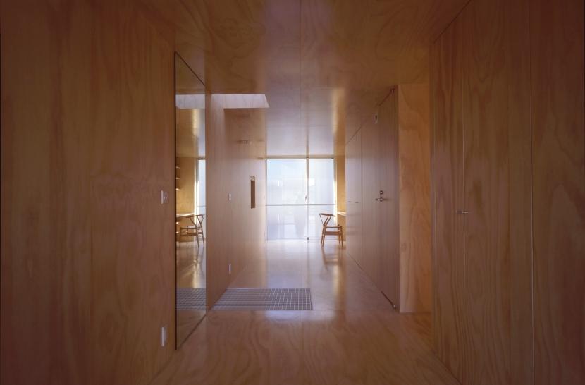 筒の家の部屋 個室