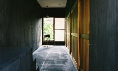 光ヶ丘 アトリエ玄関のある家 (アトリエ玄関)