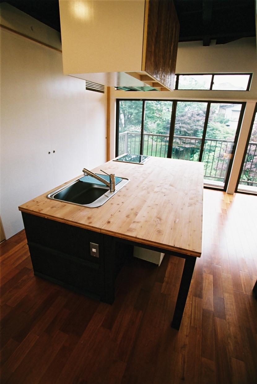 光ヶ丘 アトリエ玄関のある家の写真 キッチン