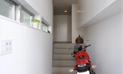 FU-HOUSE21  light-form (玄関)