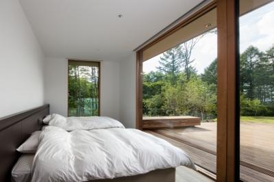 ベッドルーム1 (Y山荘)