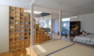 SU-HOUSE32  light-scape (寝室)