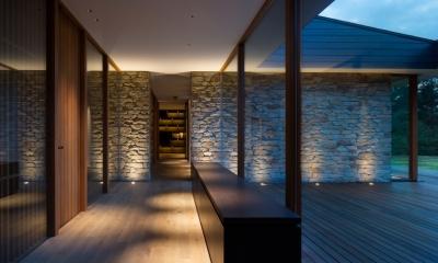 Y山荘 (廊下3)