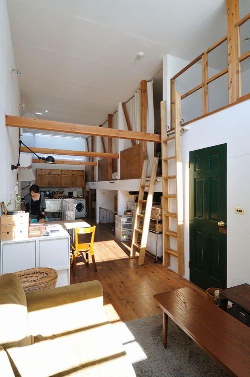 CO-HOUSE4  good-shelfの部屋 リビングダイニング
