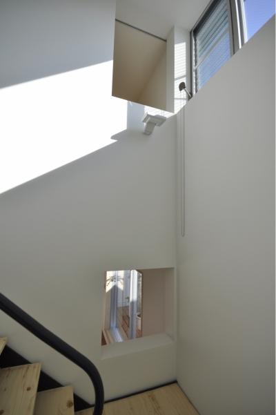 駒場ガレ-ジハウス (階段2)