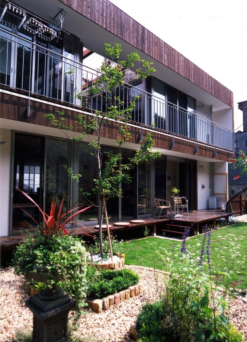 YK-House (南側外観)