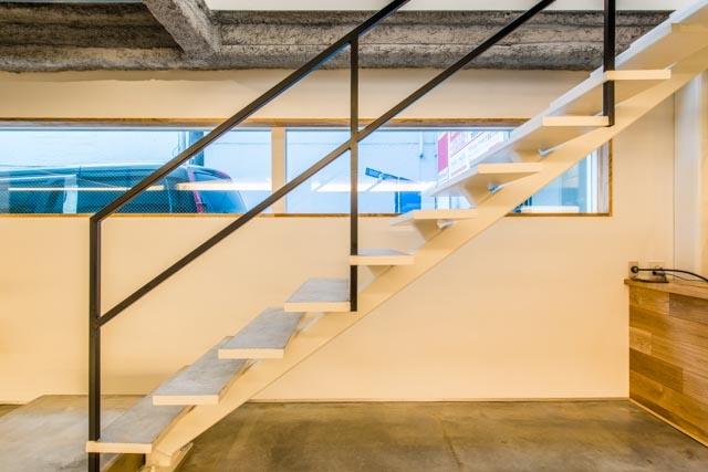 cafe634(東銀座)の部屋 cafe634|階段