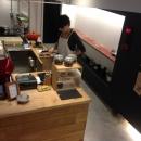 前見文徳の住宅事例「cafe634(東銀座)」
