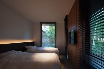 ベッドルーム3 (Y山荘)