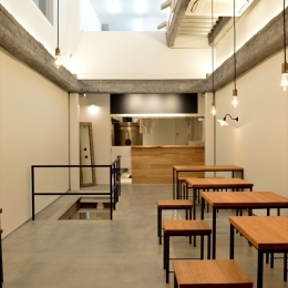 cafe634東銀座店(現在は自社ビルテナントとして運営)